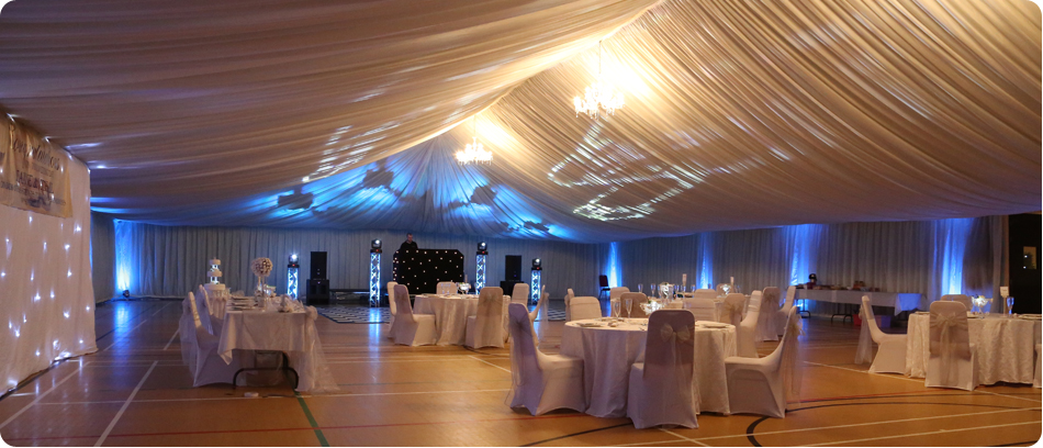 Grand Quee Suite - setup for a wedding